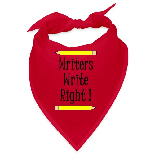 Writers Write Right - Bandana