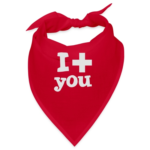 i love you - Bandana