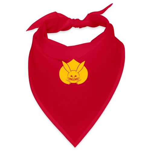 Usagi kamon japanese rabbit yellow - Bandana