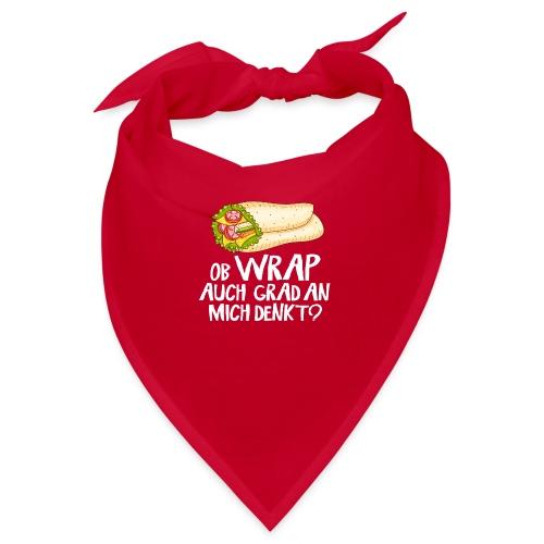 Ob Wrap auch grad an mich denkt? - Fast Food Shirt - Bandana