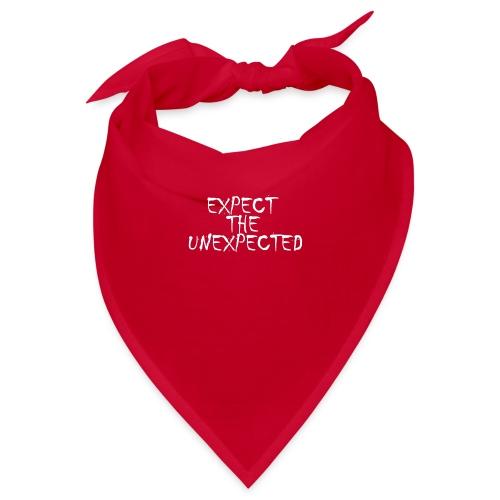 Expect the unexpected tshirt ⭐ Jetzt kaufen! - Bandana