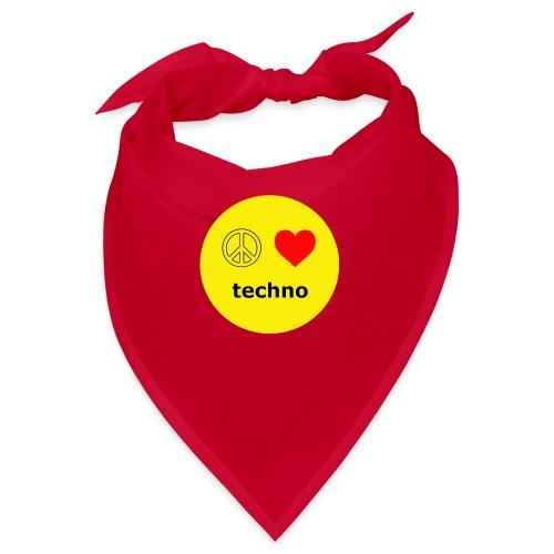 paz amor techno - Bandana