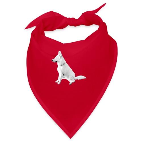 Daron White Dog - Bandana