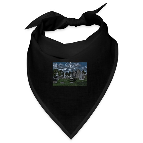 Cemetery with crows - Bandana