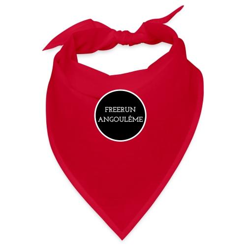 freerun noir logo - Bandana