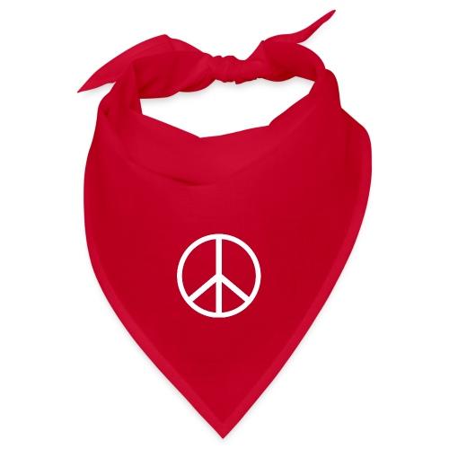 Símbolo de la paz blanco - Bandana