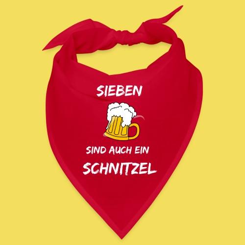 Sieben Bier - weiß - Bandana