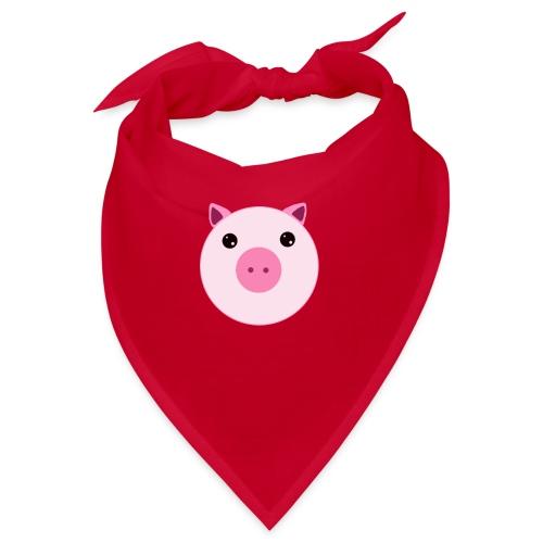 Schweinchen Schwein   Design Zeichnung - Bandana