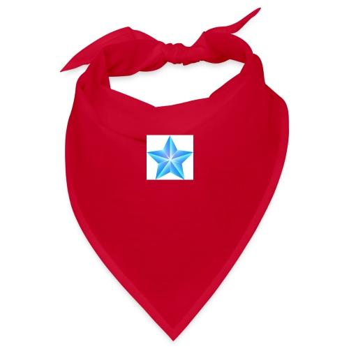 blue themed christmas star 0515 1012 0322 4634 SMU - Bandana