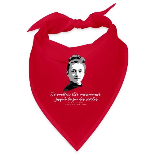 Sainte Therese patronne des missions - Bandana