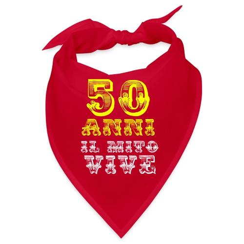 50 anni buon compleanno - Bandana
