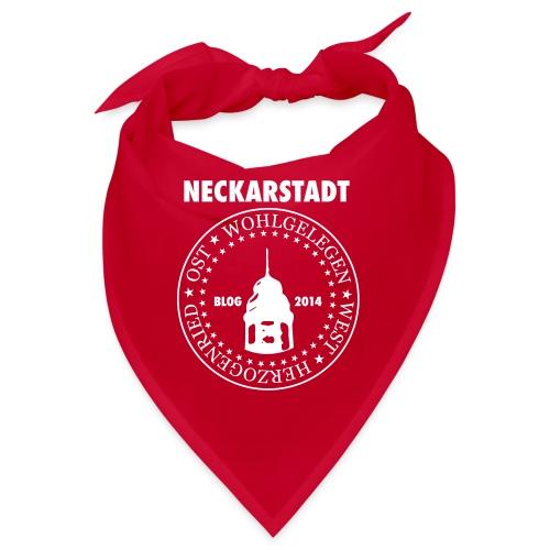 Neckarstadt – Blog seit 2014 (Logo hell) - Bandana