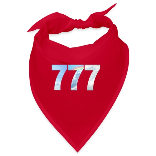 777 un nombre de chance et spirituel. - Bandana