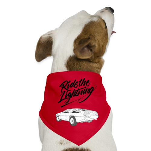 Delorean – Ride The Lightning - Hunde-Bandana