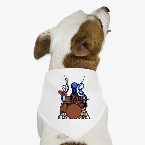 Oktopus spielt Schlagzeug - Hunde-Bandana