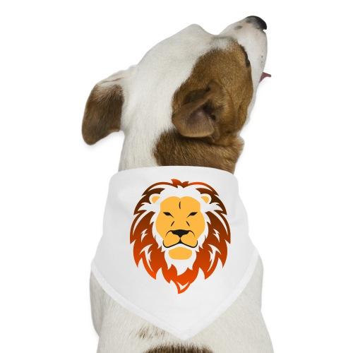 Lion orange - Bandana pour chien