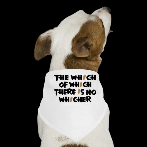 whichwhichwhich - Hunde-Bandana