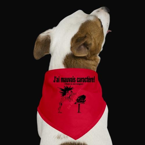T-SHIRT HUMORISTIQUE,FEMME,MOTIF,DESIGN DROLE - Bandana pour chien