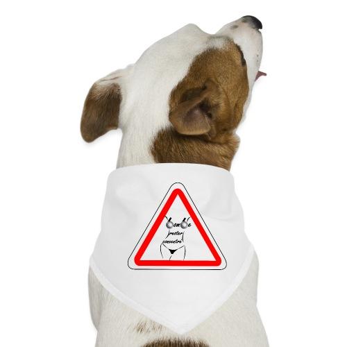t shirt petanque amusant rester concentré bombe - Bandana pour chien