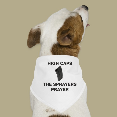 Sprayers Prayer - Honden-bandana