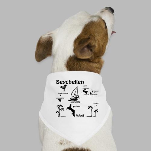 Seychellen Insel Crewshirt Mahe etc. - Hunde-Bandana