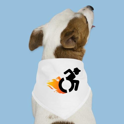 Roller met vlammen 016 - Honden-bandana
