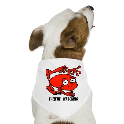 red frog - Bandana per cani