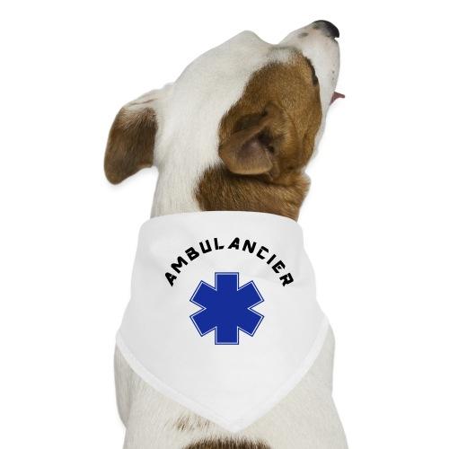 ambulancier logo - Bandana pour chien