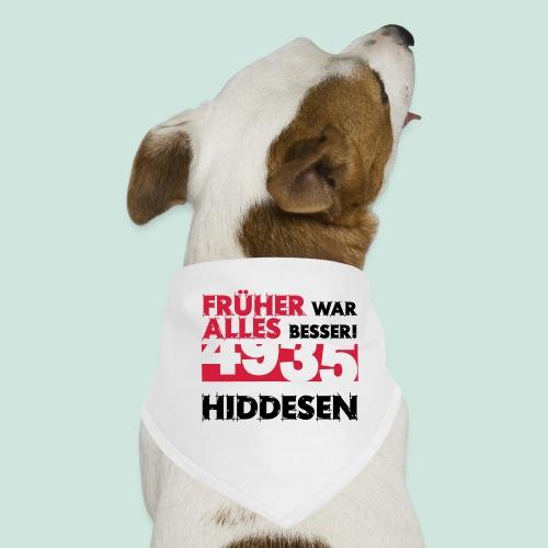 Früher 4935 Hiddesen - Hunde-Bandana