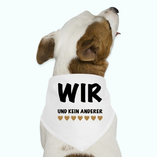 WIR - Hunde-Bandana
