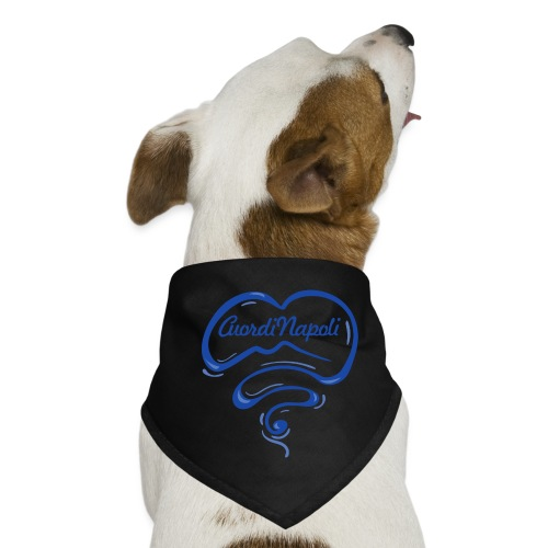 New Logo CuordiNapoli Blu - Bandana per cani