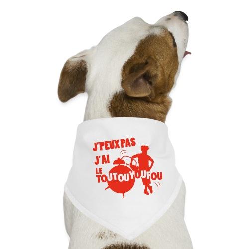 JPEUXPAS ROUGE - Bandana pour chien