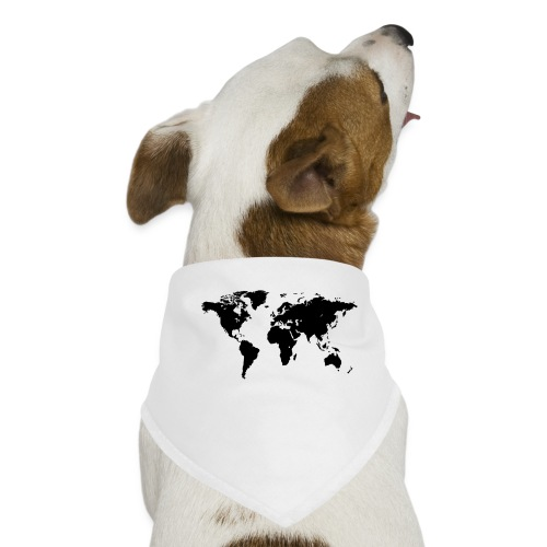 World Map - Hunde-Bandana