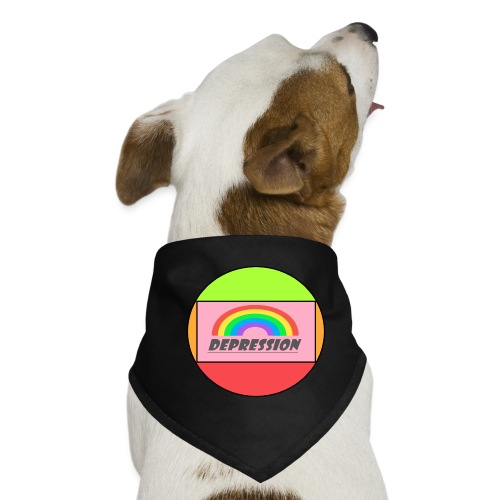 Depressed design - Dog Bandana