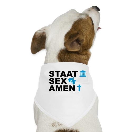 Staatsexamen / Staat Sex Amen - Hunde-Bandana