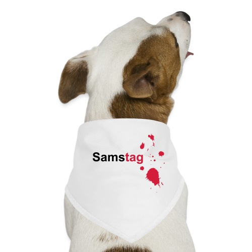 Samstag - Hunde-Bandana