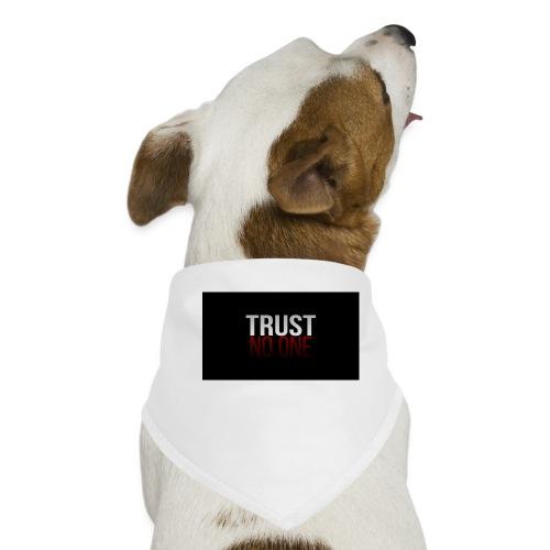 Trust, NO ONE! - Honden-bandana