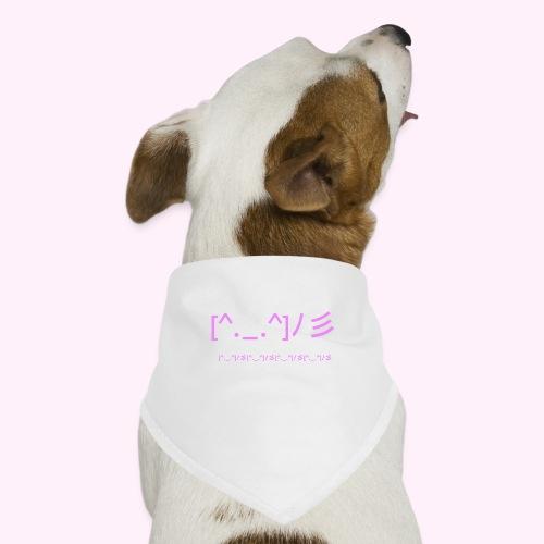 classic logo for regular people - Bandana til din hund