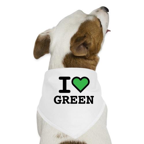 i-love-green-2.png - Bandana per cani