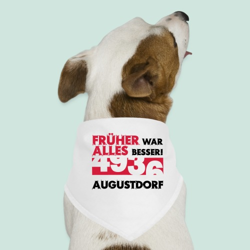 Früher 4936 Augustdorf - Hunde-Bandana