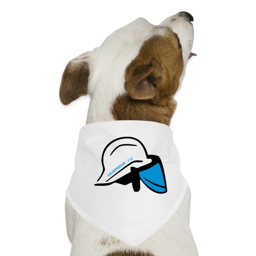Feuerwehr Helm - Hunde-Bandana