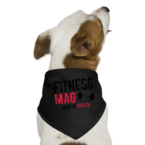 Fitness Mag made in corsica 100% Polyester - Bandana pour chien