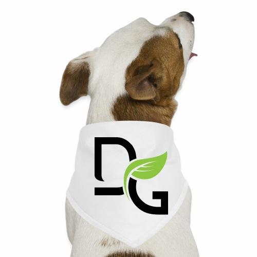 DrGreen Logo Symbol schwarz grün - Hunde-Bandana