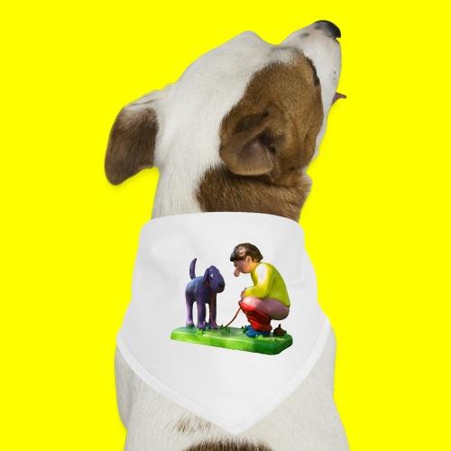 Mannetje Poep vrijstaand - Honden-bandana
