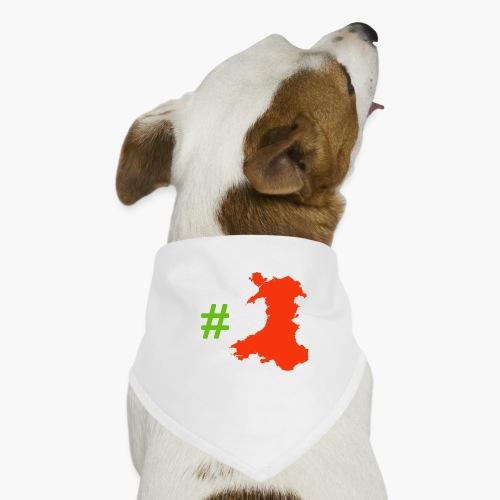 Hashtag Wales - Dog Bandana