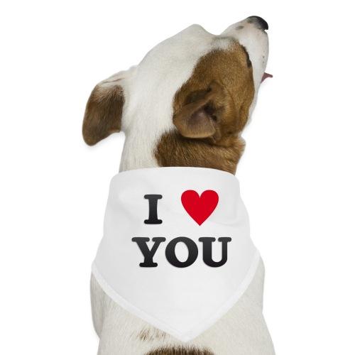 I love you - Hunde-bandana