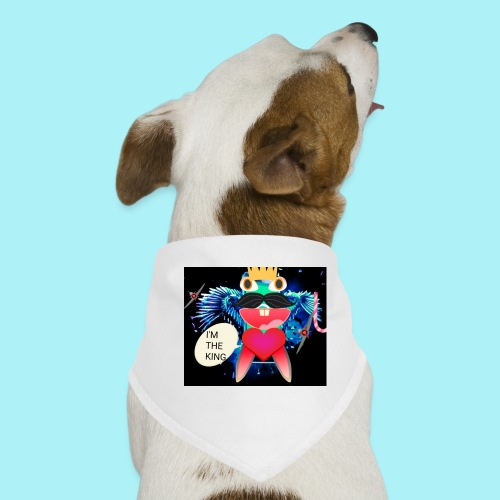 I 'm the king - Bandana pour chien