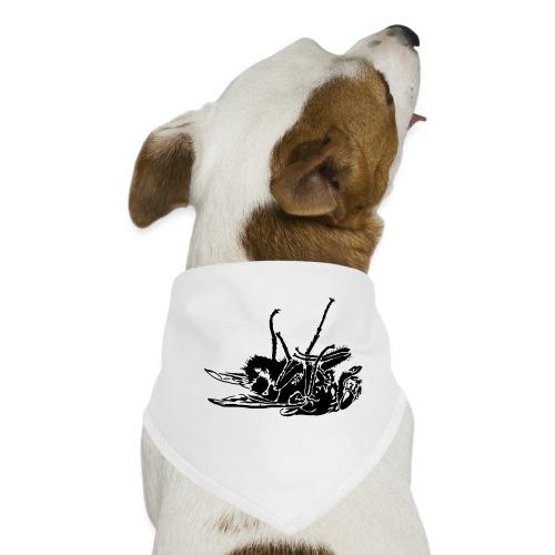 mouche morte - Bandana pour chien