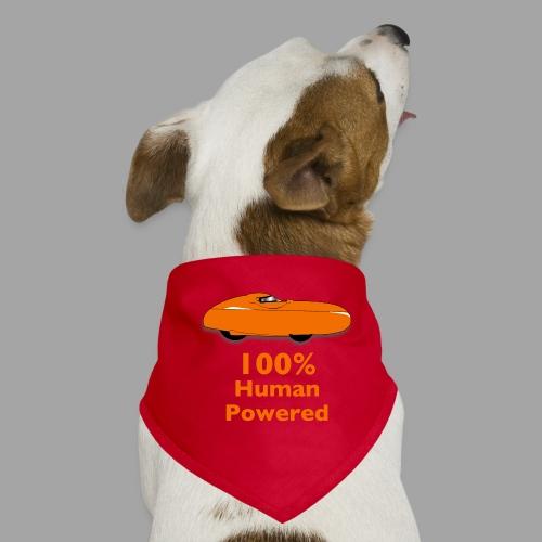 100% human powered - Koiran bandana
