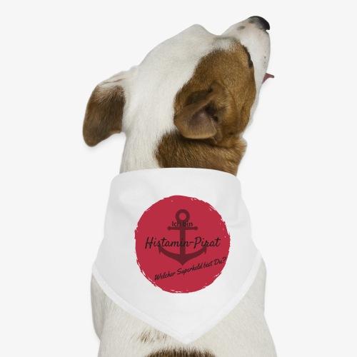 Histamin-Pirat Superheld (rot) - Hunde-Bandana